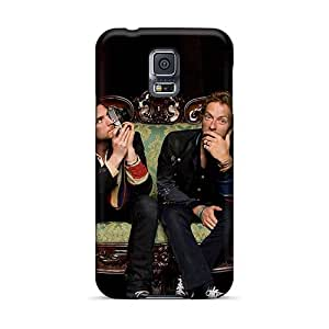 SherieHallborg Samsung Galaxy S5 Protector Hard Cell-phone Cases Provide Private Custom High-definition Linkin Park Pattern [wHV11807ucHD]