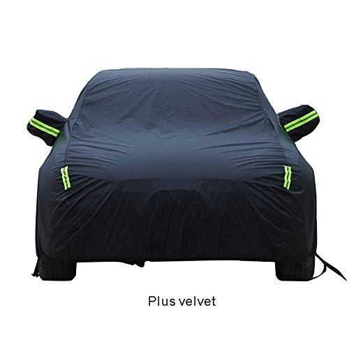 - Waterproof Anti UV Sun Car Cover is for Nissan Qashqai Bluebird Sunny Paladin NV200, Oxford Cloth/Cotton Lining All Weather Durable Protective Shield (Color : Plus Velvet, Size : NV200)
