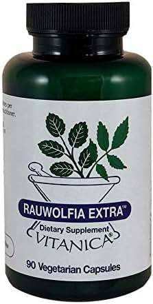 Vitanica Rauwolfia Extra, Blood Pressure & Cardiovascular Support Supplement, Vegan, 90 Capsules