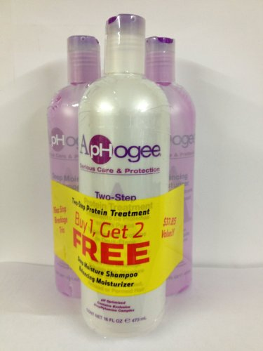 Aphogee Two-Step Protein Treatment, Balancing Moisturizer, D