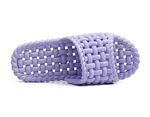 A suaves ducha Zapatillas sandalias zapatillas casa 2 playa EVA Slip de de fondo Señoras On zapatillas baño interior Leaky par WqxH7nCw