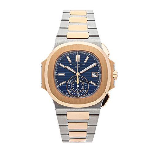 Patek Philippe Nautilus Mechanical (Automatic) Blue Dial Mens Watch 5980/1AR-001 (Certified Pre-Owned) (Patek Philippe Watches Nautilus Mens Stainless Steel)