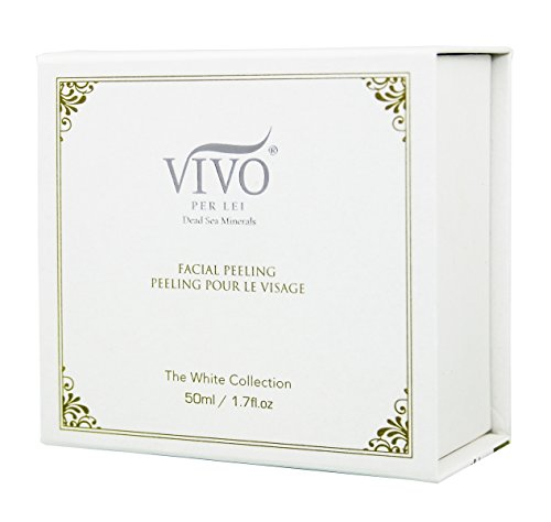41d5kd2kOwL Vivo Per Lei Facial Peeling Gel, Exfoliates Skin and Blackheads Without Hurting Your Face, 1.7 Fl. Oz.