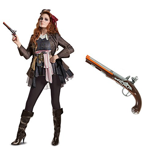 Pirates of The Caribbean Captain Jack Female Deluxe Adult Costume (Jack Sparrow Female Costume)