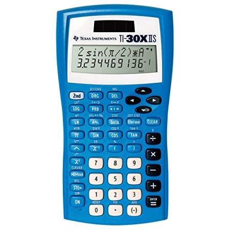 Texas Instruments TI-30X IIS Scientific Calculator, Blue by Texas Instruments