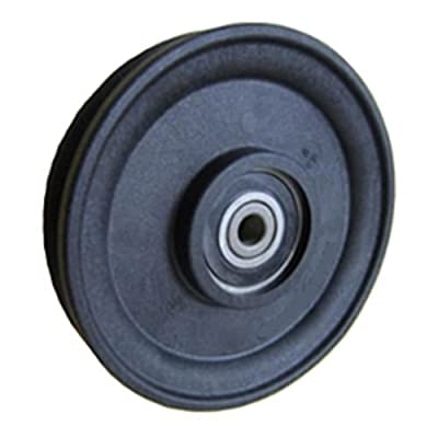 "Fenner Drives RA3503 PowerMax 1/4"" Cable Pulley, Glass Reinforced Nylon, 17 mm Bore, 3.55"" OD, 3.55 mm Width"