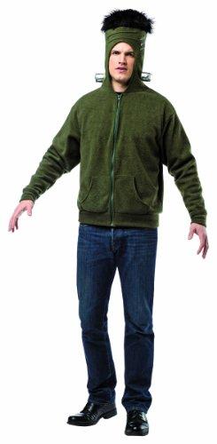 Rasta Imposta Juniors Hoodie Monsta Man, Green/Black/Silver, One Size -