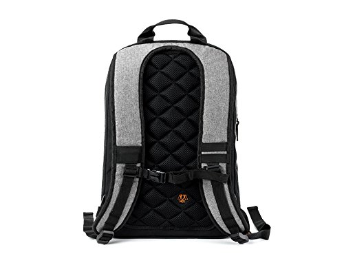 MOS Pack, The Backpack You Plug In to Charge Everything - NO MOS Reach+ Included, Granite by MOS (Image #2)
