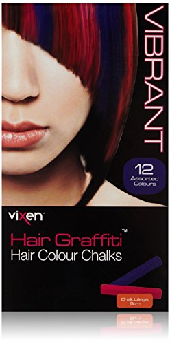 Vixen Hair Graffiti Vibrant Hair Color Chalks by Vixen Hair Graffiti