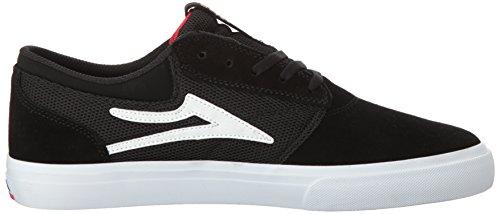 Zapatos Lakai Griffin Xlk Negro-Oro Suede (Eu 41 / Us 8 , Negro)