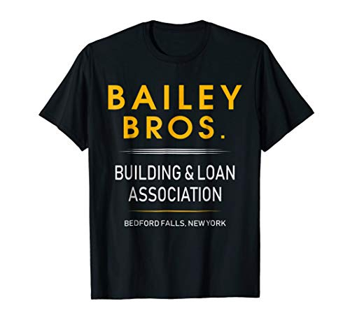 It's a Wonderful Life Bailey Bros T-shirt