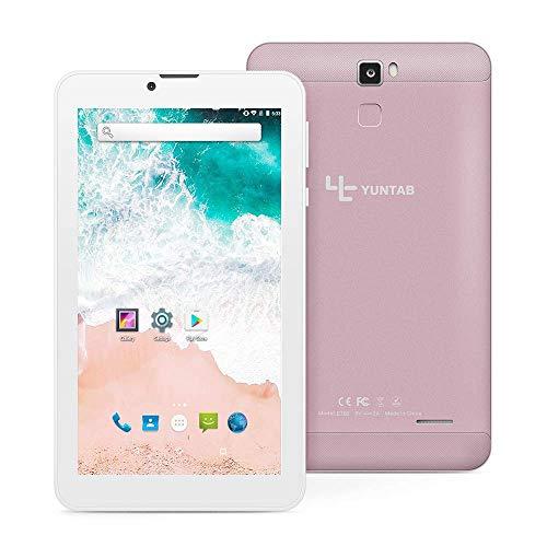 YUNTAB E706 7 Zoll Tablet, RAM 1 GB + ROM 16 GB, mit Dual-SIM-Steckplatz, WLAN, Bluetooth, Unterstützung von 2G, 3G…