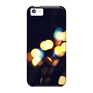 New Cute Funny Bokeh Park Case Cover/ Iphone 5c Case Cover
