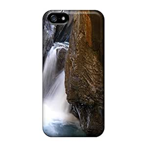 Premium NYh14034qWQe Case With Scratch-resistant/ Rosenlaui Ravine Waterfall Case Cover For Iphone 5/5s