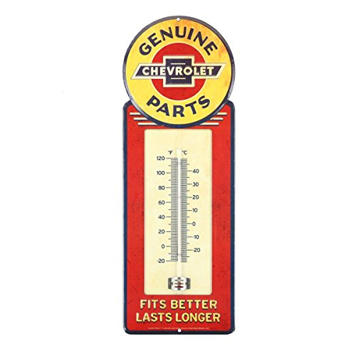 Open Road Brands Chevrolet Tin Thermometer