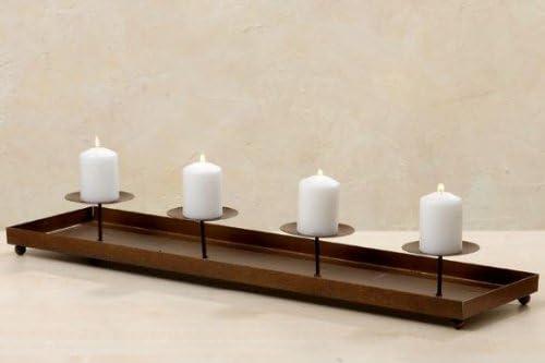 Metall Obstschale Kerzenhalter Kerzenständer Teelichthalter Neu
