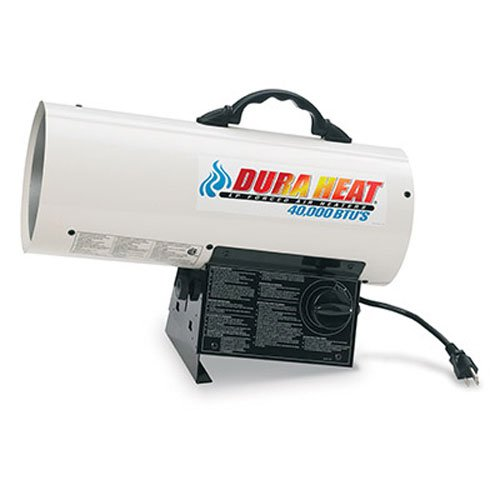 Dura Heat GFA40 40,000 BTU Propane(LP) Forced Air Heater by Dura Heat