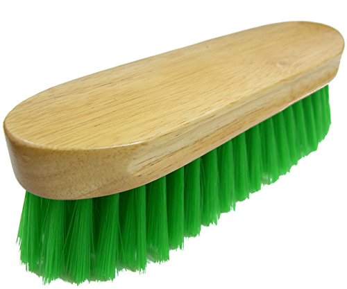 Intrepid International Bedford Horse Brush, Green