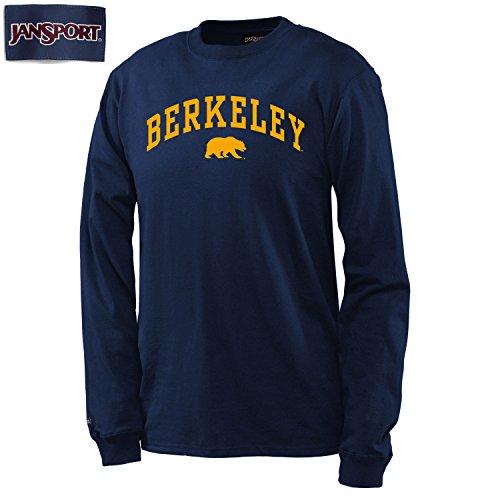 UC Berkeley Walking Bear Men's Longsleeve T-Shirt-Navy