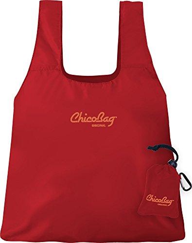 ChicoBag Original Reusable Shopping Bag, in Red