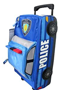 Kids travel luggage - Police Car shaped Suitcase