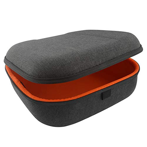 Case Hard Carrying Vinyl - Headphones Case for Sennheiser HD598, HD558, HD518, HD280 PRO and More/Headphone Full Size Hard Shell Large Carrying Case/Headset Travel Bag with Space for Cable, AMP, Earpad and Accessories