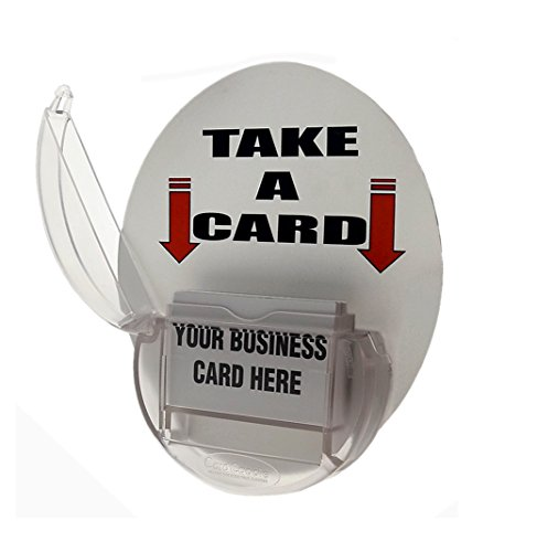 d Caddie Magnetic Vehicle Business Card Holder (Clear) ()