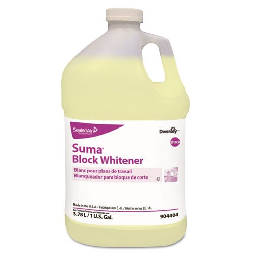 Diversey Suma Block Whitener for Plastic and Cutting Boards (1-Gallon, 4-Pack) from Diversey