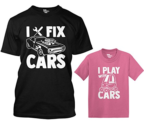 I Fix Cars/I Play with Cars Matching Toddler & Men