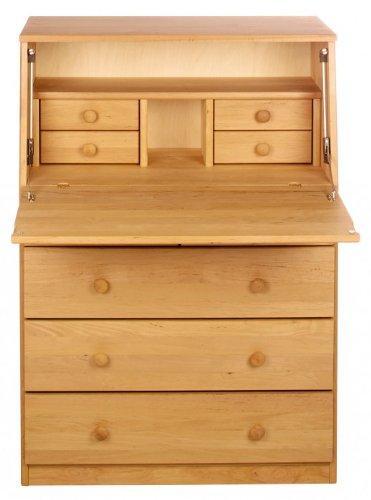BioKinder 22177 Mesa escritorio Elin, madera biológica masiva ...