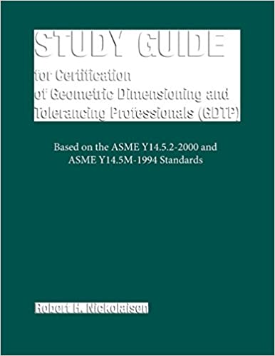 study guide for certification of geometric dimensioning and