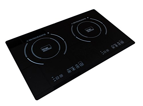 True Induction Ti 2b Counter Inset Double Burner Induction