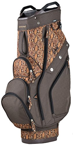 Sun Mountain Women's Diva Cart Golf Bag, Brown/Boa Womens Golf Cart Bag