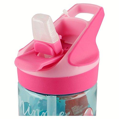 Multicolore Disney Borraccia Plastica Tritan Premium Media 620/ml di Minnie Mouse Bloom