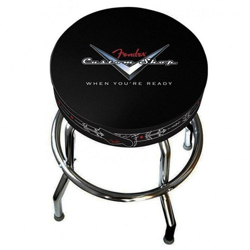 Fender 24 Inch Custom Shop Pinstripe Bar Stool Bancs