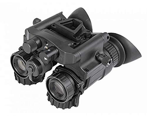 AGM Global Vision 14NV5123454021 NVG-50 3AW2 51 deg FOV Gen 3 Plus Auto-GatedWhite Phosphor Level 2 Dual Tube Night Vision Goggle & Binocular44; Black