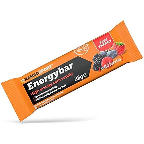 Named Energybar Wild Berries Frutas de Bosque Box 12 Barritas ...