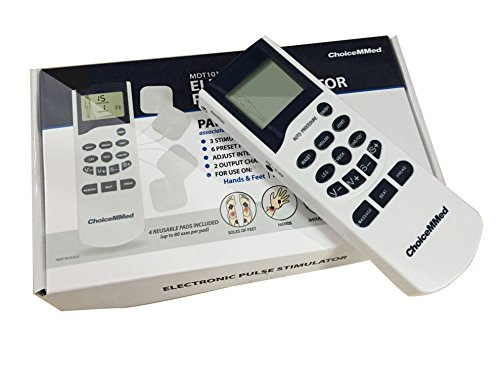 ChoiceMMed Handheld Electronic Pulse Massager ,Electrotherapy Muscle Stimulator ,FDA OTC Approved