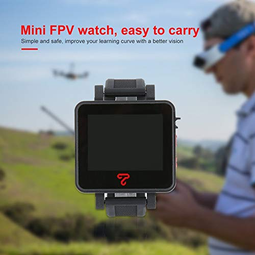 Wikiwand Topsky 2 Inch 4:3 LCD Watch 5.8Ghz 48CH FPV Watch Monitor for RC Drone Part by Wikiwand (Image #3)