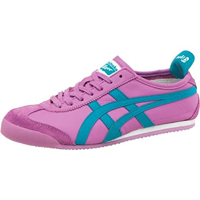 buy popular 0b28e 9f384 Onitsuka Tiger Womens Mexico 66 Leather Purple/Blue - 4 UK 4 ...