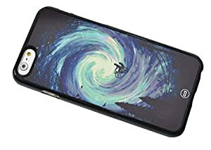 1888998483789 [Global Case] Galaxy Space Infinity Tiger Stars Nebulae Bike Sky Universe Hipster Puma Whirlpool Constellation Étincelle (BLACK CASE) Snap-on Cover Shell for Apple iPhone 6+ [5.5 inch]