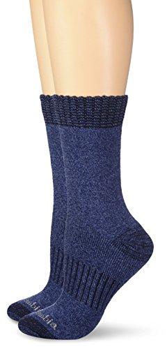 Columbia Women's Moisture Control 2 Pack Space Dye,Navy,Shoe Size: 4-10