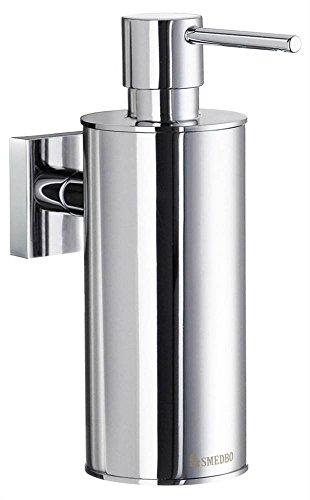 p Dispenser Wall mount, Polished Chrome (Smedbo Wall Mount Soap Dispenser)