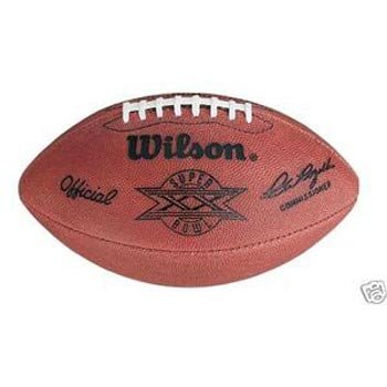 (Super Bowl 20 XX Wilson Official NFL Game Football)