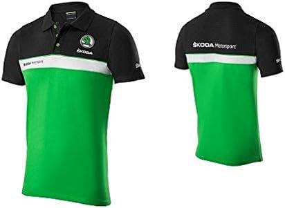 Skoda Motor Sport Hombre de Polo Camiseta Talla M – 000084230bdfbd ...