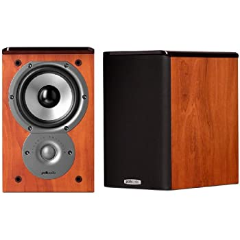 Polk Audio TSi100 Bookshelf Speakers Pair Cherry