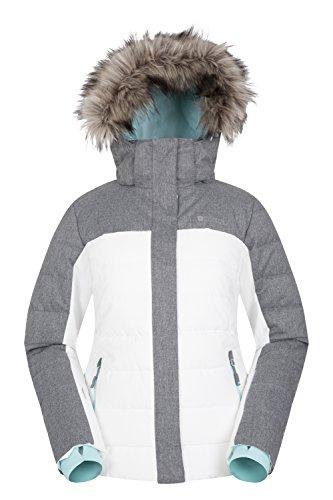 Mountain Warehouse Monte Rosa Womens Ski Jacket - Padded Ski Coat,...