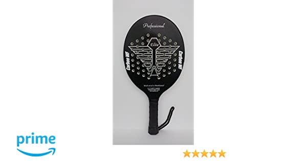 Amazon.com : Propaddles Elite Paddleball Paddle (Black) : Sports & Outdoors