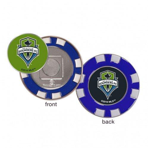 WinCraft Seattle Sounders FC MLS Poker Chip Ball Marker Golf