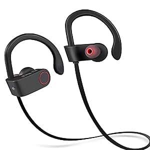 066f1e8c79e Amazon.com: Sunnest Bluetooth Headphones Earbuds Wireless Sports Stereo  Headsets with Mic .